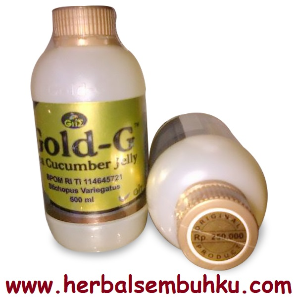 Jelli Gamat Gold G 500 Ml